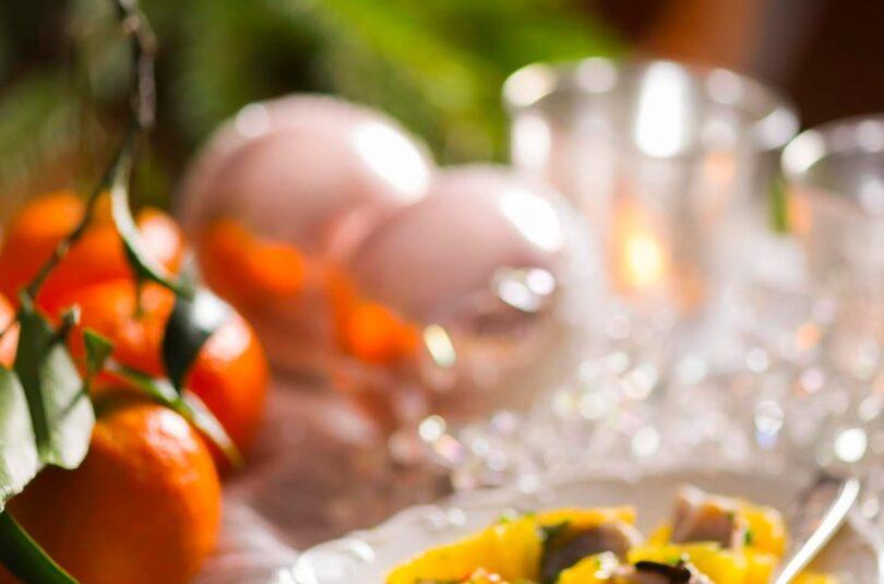 Jõuluheeringas apelsiniga