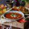 Lihtne ja kiire köögiviljamahlast supp kitsejuustuga